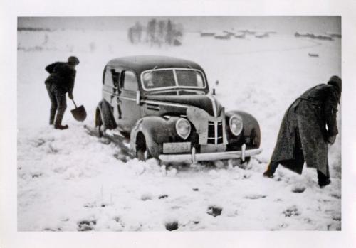 Kesärenkailla talviajossa