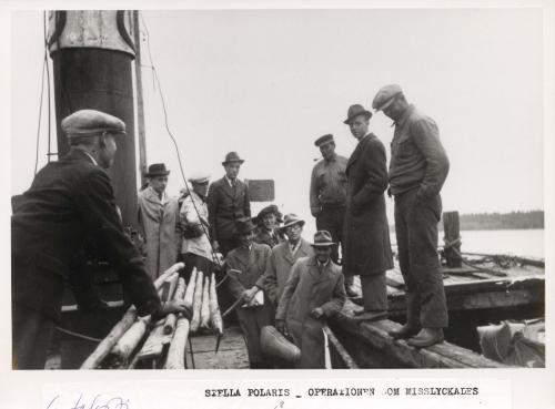 Kuvan alaosassa oleva teksti kertoo paljon, kuva Stella Polaris-matkalta