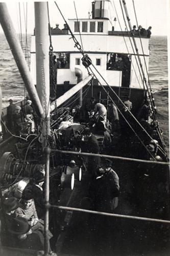 S/S Georg 24.9.1944 matkalla Ruotsiin