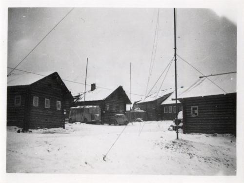 Juustärvi Mottiporukan majoituspaikka Antennit pystyssä
