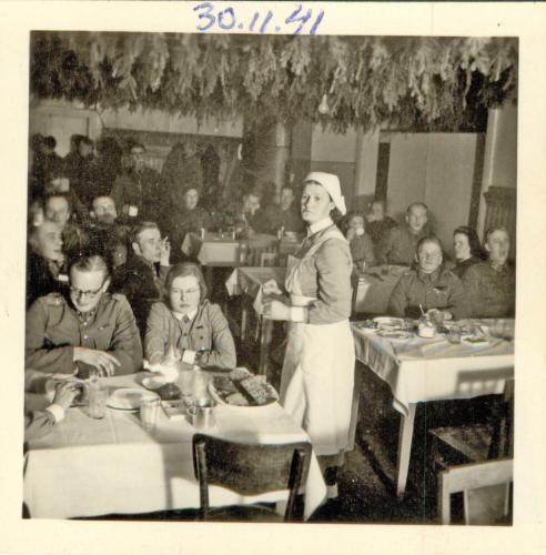 Muistotilaisuus 30.11.1941 Äänislinnassa