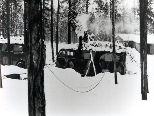 Motti 2 Uhtualla helmikuussa 1943