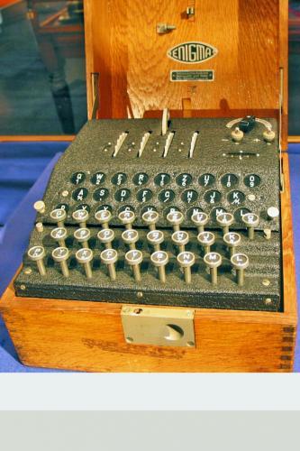 MO:n käytössä oli kuuluisia Enigma-salaimia