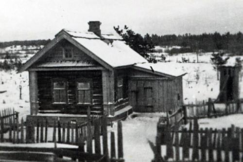 Omakotitalo Itä-Karjalassa