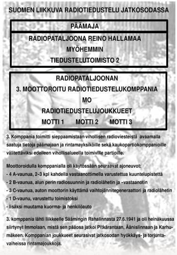 MO ja Päämajan radiopataljoona (PMRADP)